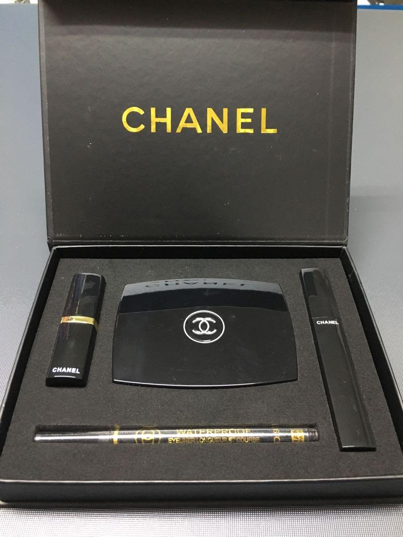 Chanel Make Up 4 In 1 Gift Set Health Beauty Makeup On Carousell