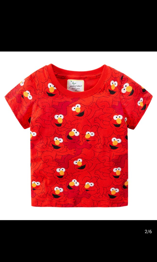 Elmo Outfit Pants Roblox Children Elmo T Shirt Babies Kids Boys Apparel 4 To 7 Years On Carousell
