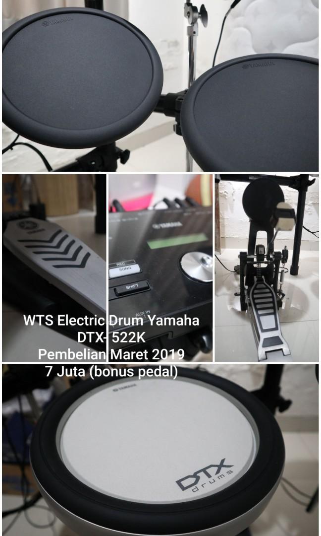 Electronic Drum Yamaha DTX 522K