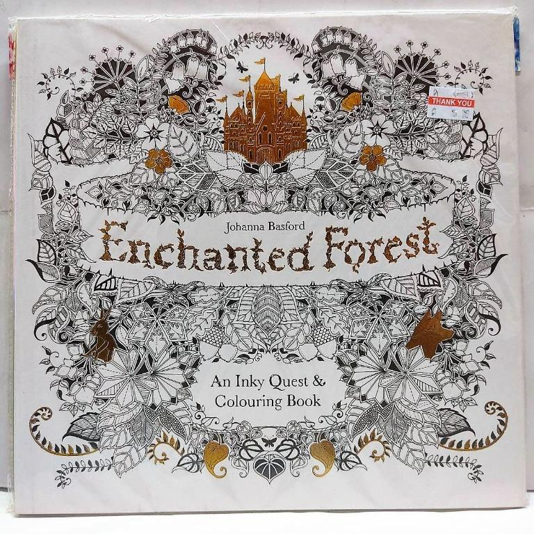 - Enchanted Forest Coloring Book, Design & Craft, Artwork On Carousell