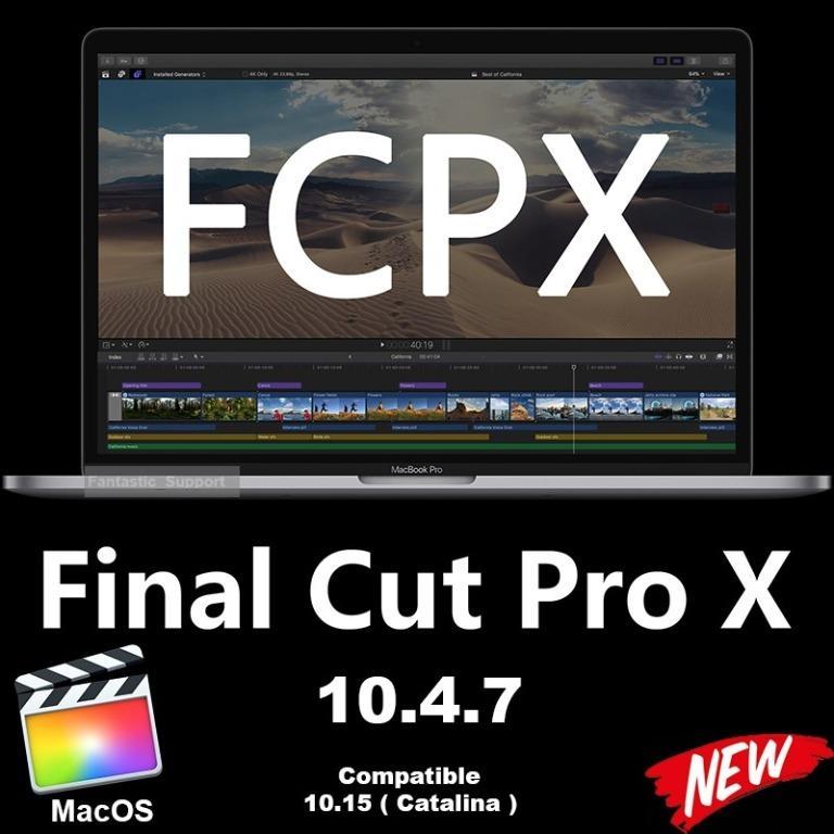 Final Cut Pro X 10.4.7 [LIFETIME]