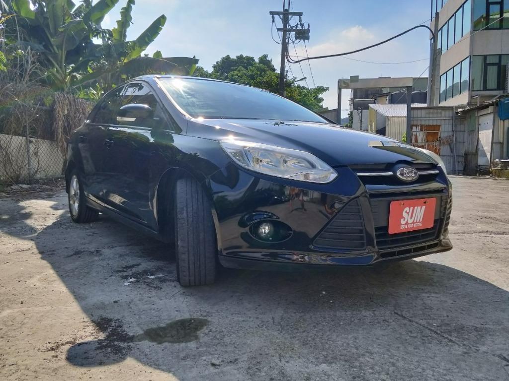 久違的Focus四門,水水的車況,美美的車,雖然六年車卻超新