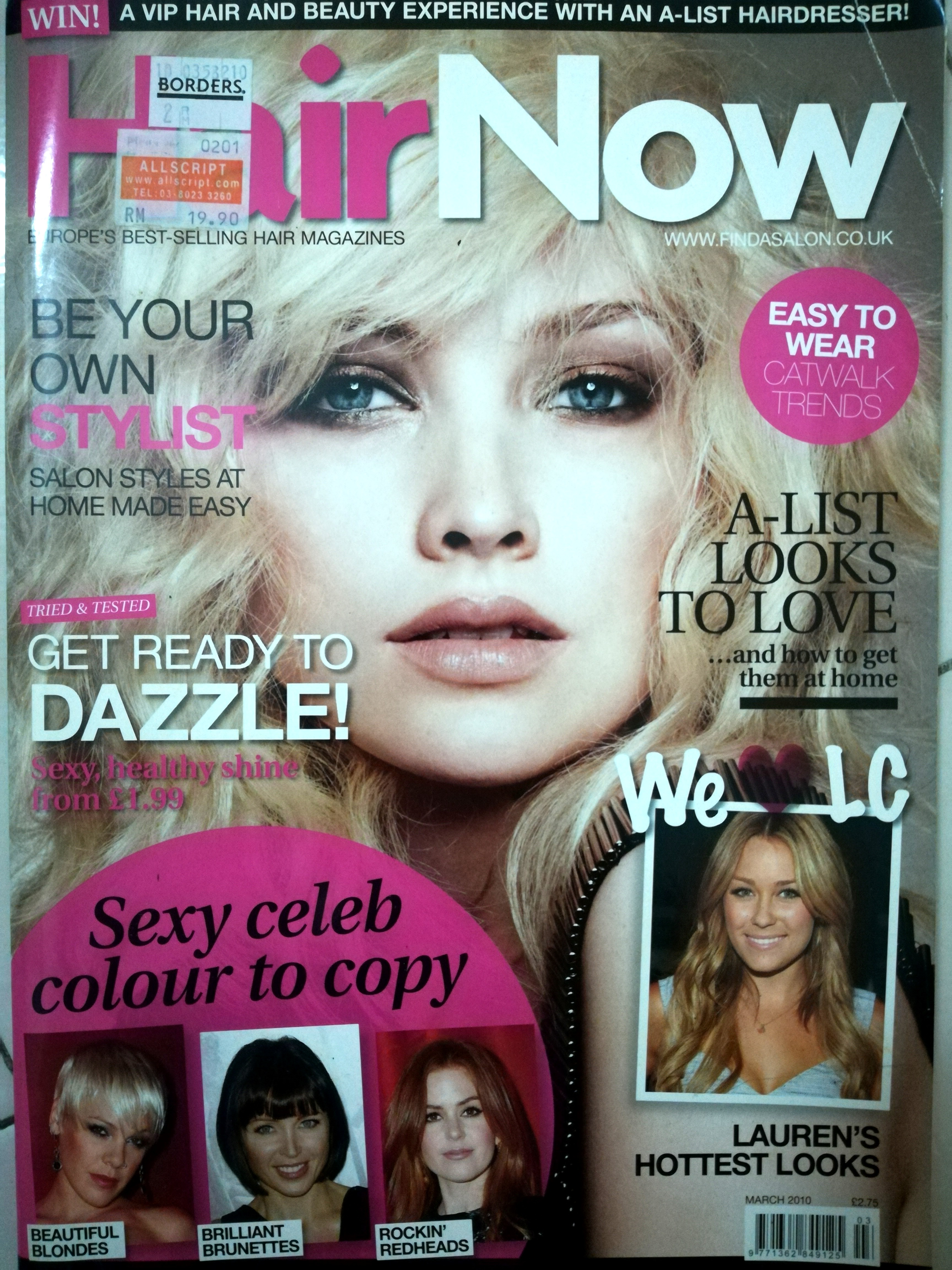 Hairstyles Magazines Bundle Haircut And Hair Coloring Tutorials For Hairstylists And More Textbooks On Carousell