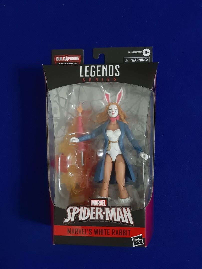 White Rabbit Marvel Legends 6 inch Action Figure Spider-Man NEW