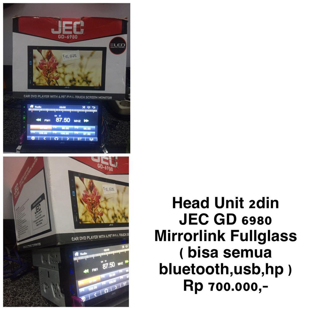 Head Unit 2Din JEC