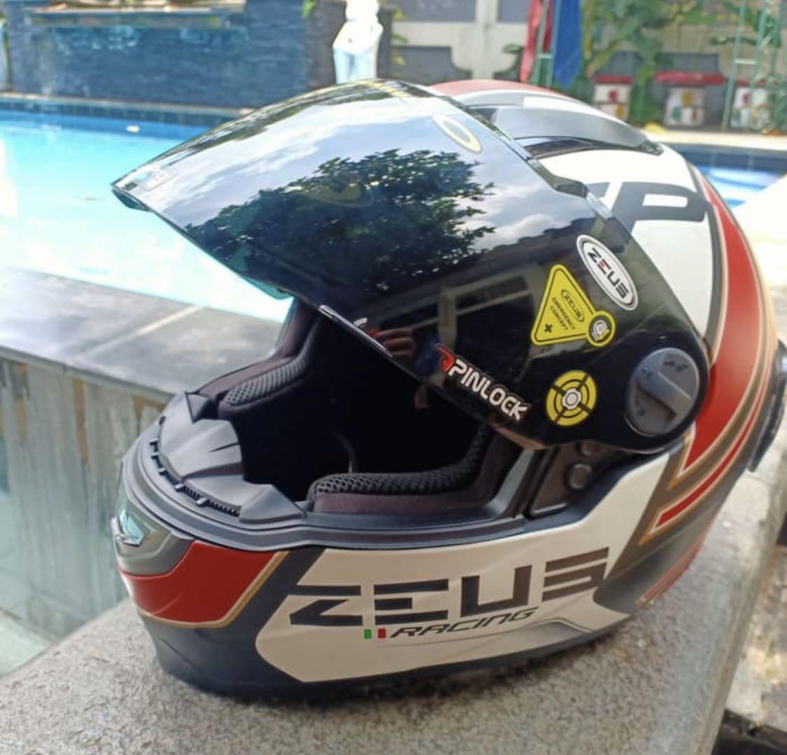 Helm Zeus Racing 811 Helmet Full Face ZS811 Original