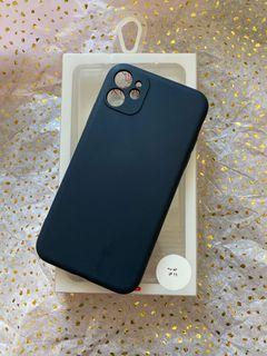 Iphone 11 case - Navy full overage