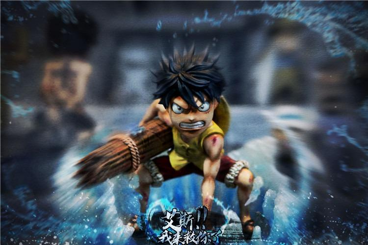[IS]ONE PIECE: LUFFY STATUE FIGURE
