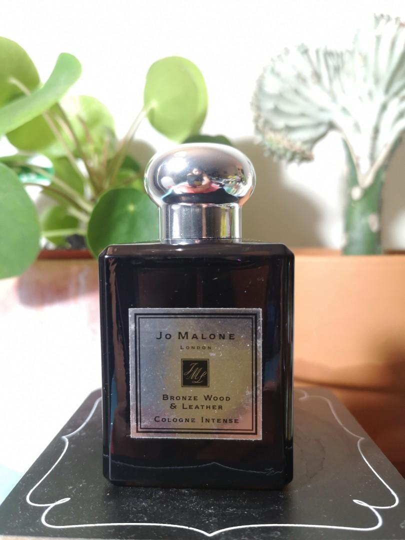 Men's 50ml jo malone bronze wood and leather and incense and cedrat