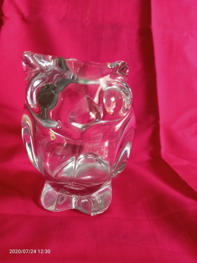 Owl Sasaki Crystal Japan