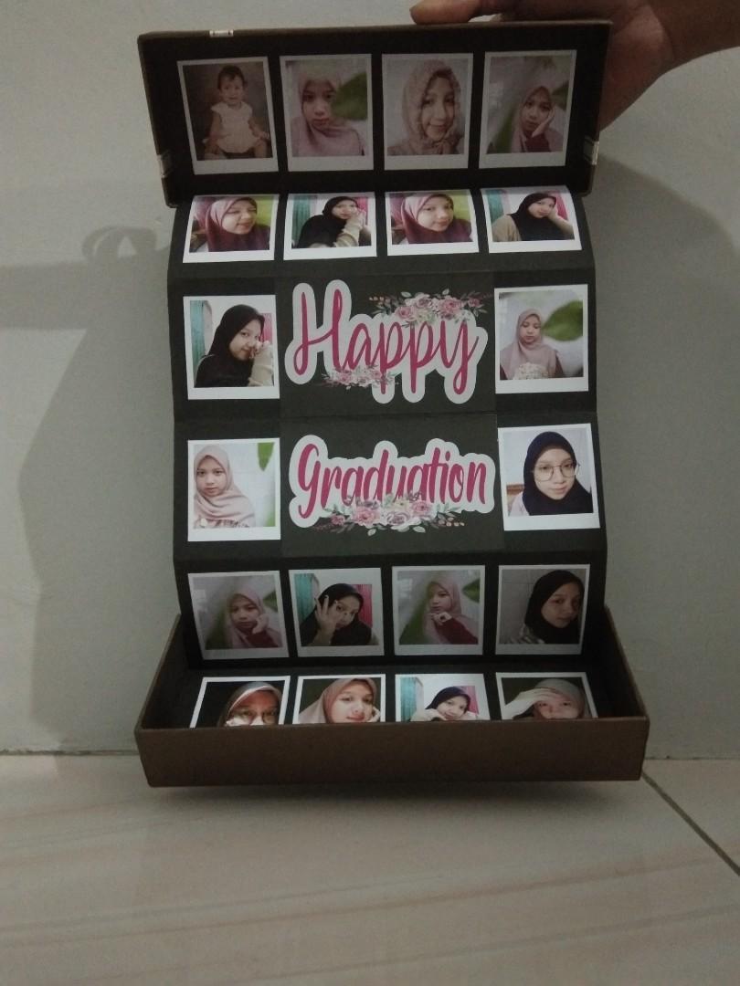 Pop-up hadiah foto box custom