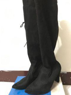 絨面 長靴 39號