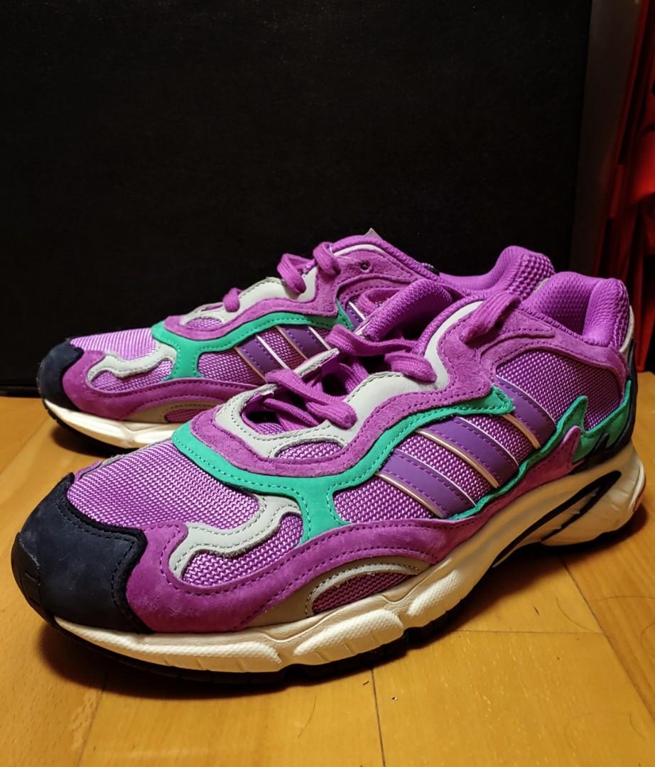 Adidas originals temper run 紫綠色, 男
