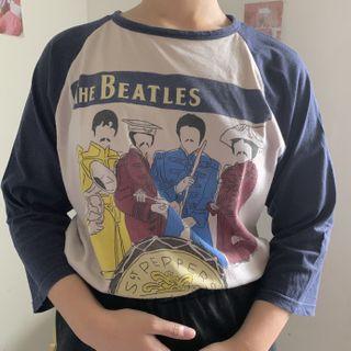 beatles navy shirt