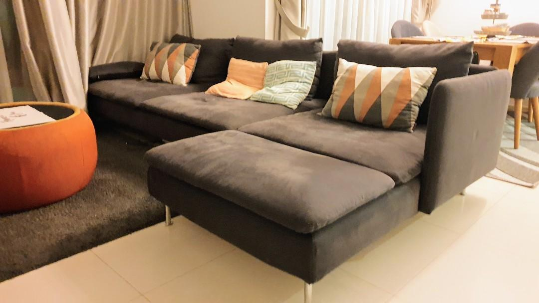 Picture of: Big Comfy Sofa Furniture Sofas On Carousell