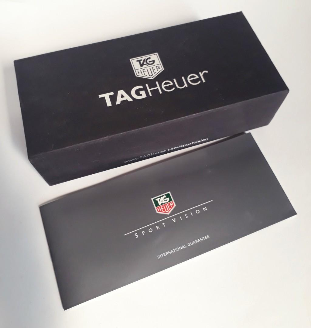 Box + card Tag Heuer Glasses
