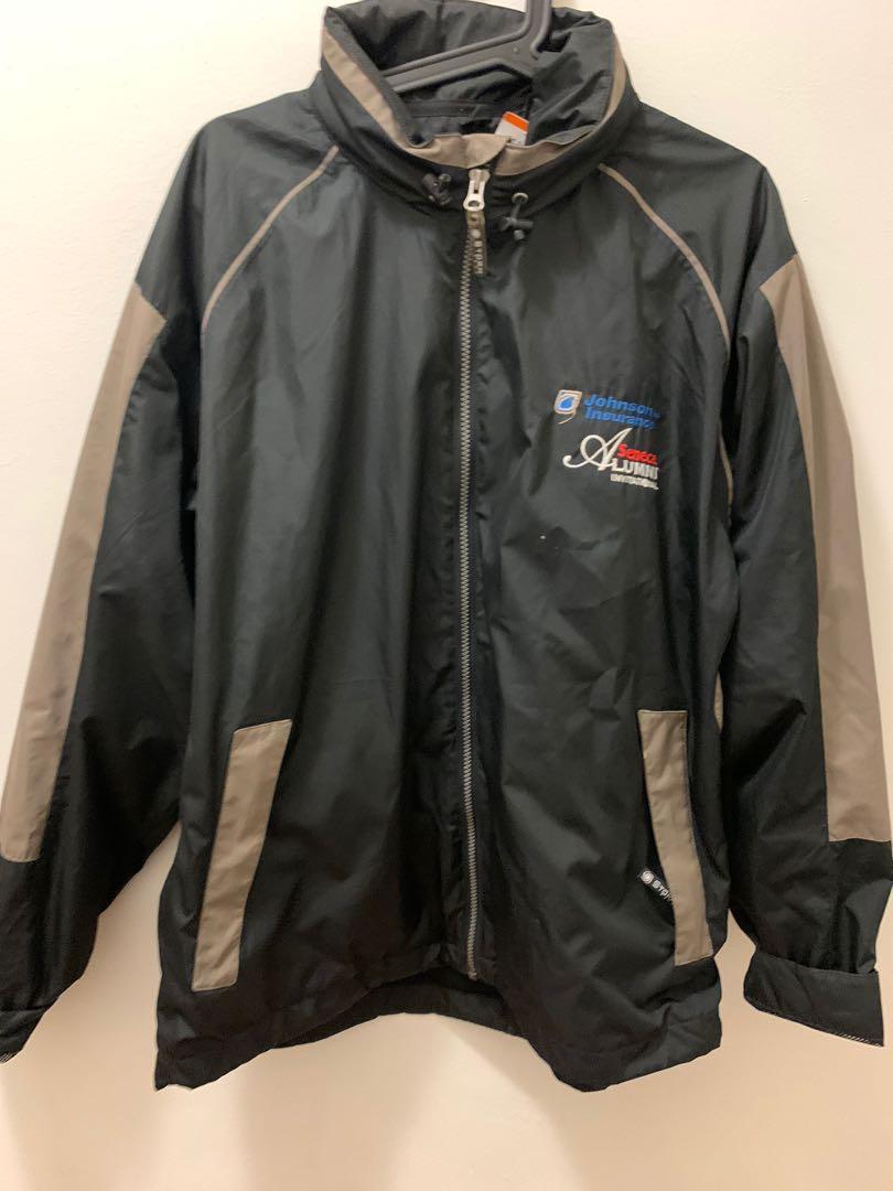 Brown and black jacket