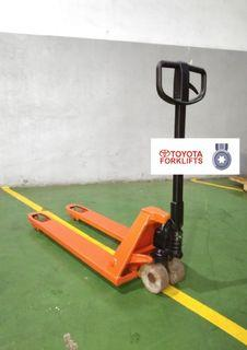 CERTIFIED USED (SILVER) Toyota BT Lifter 2300 kg 2.3 tons LHM230 Hand Pallet Truck