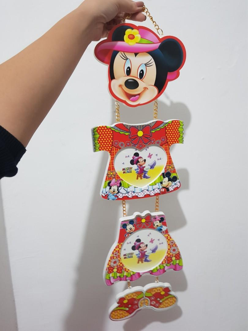 Frame foto gantung mickey