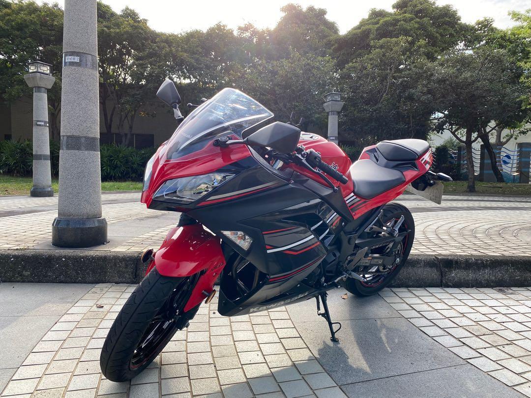 Kawasaki Ninja300 2017 川崎
