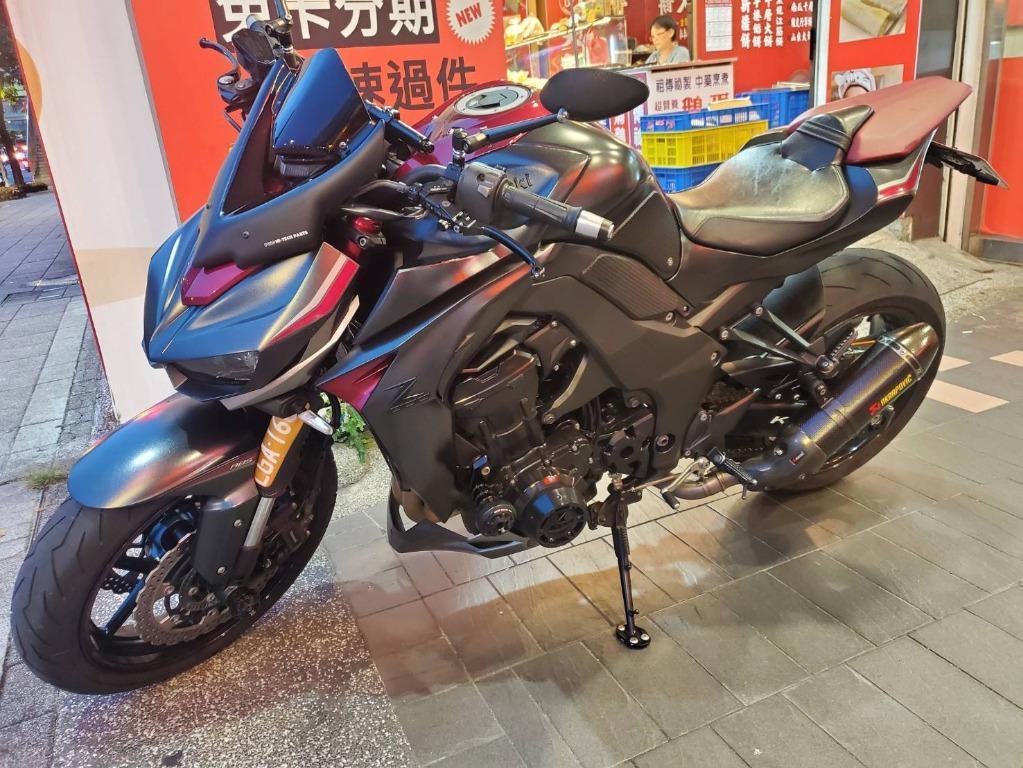KAWASAKI  Z1000 ABS 四代滑離版本