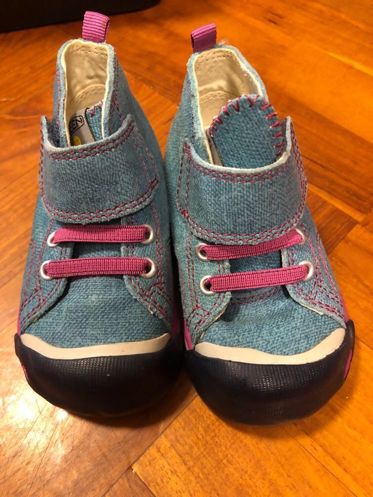 Keen 牛仔Baby Shoes, 兒童&孕婦用品