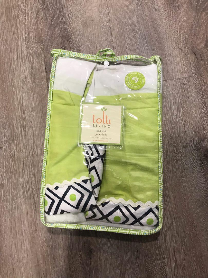 Lolli Living crib bed skirt BNIP