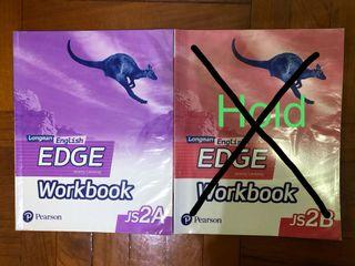 Long man English EDGE Workbook JS2A/JS2B