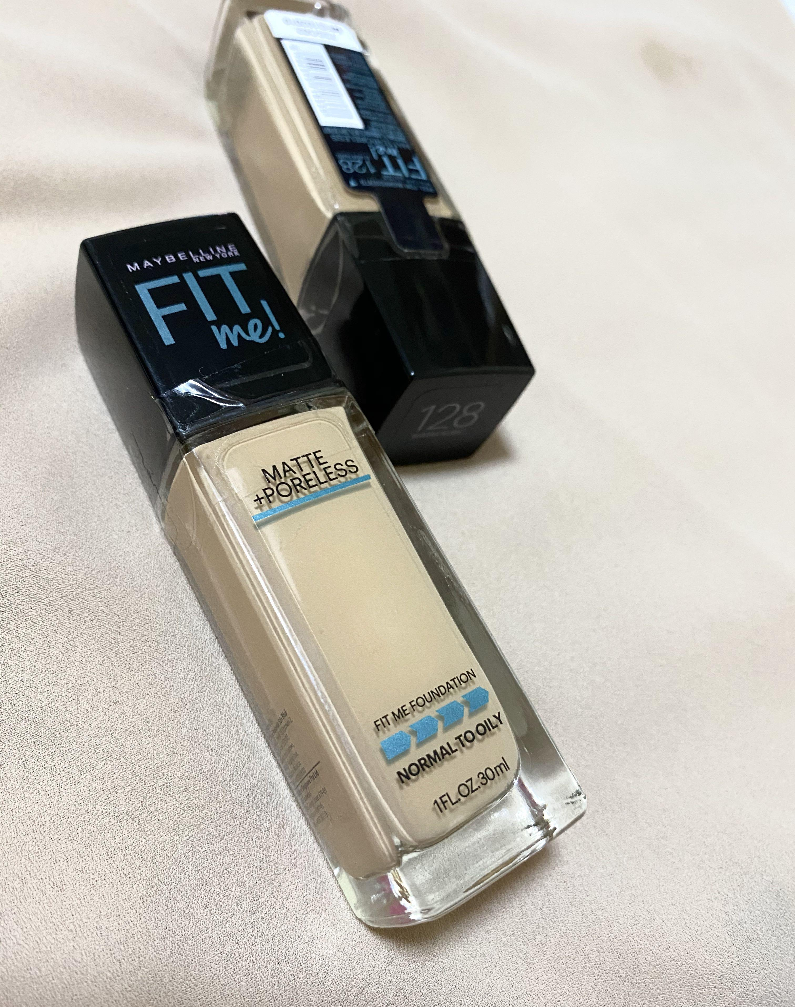Maybelline Fit Me Foundation Shade 128 Health Beauty Makeup On Carousell