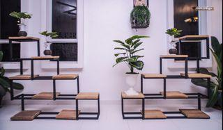 [HARI MALAYSIA PROMO ] Industrial Rak Pasu Vase Stand Simple