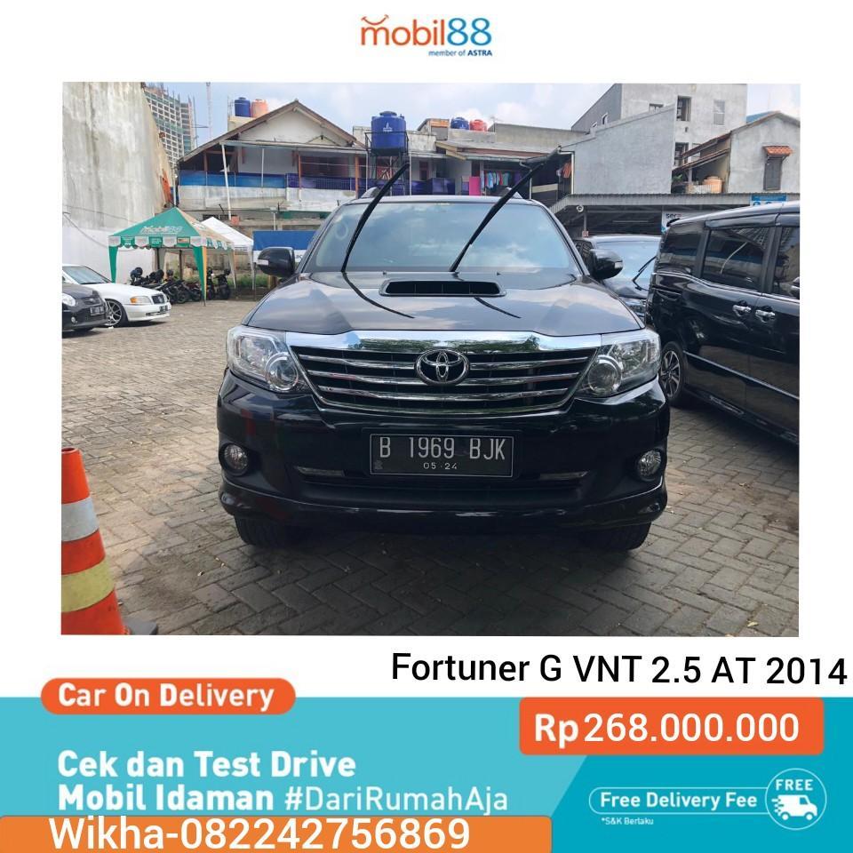 Toyota Fortuner G VNT 2.5 AT Dsl 2014