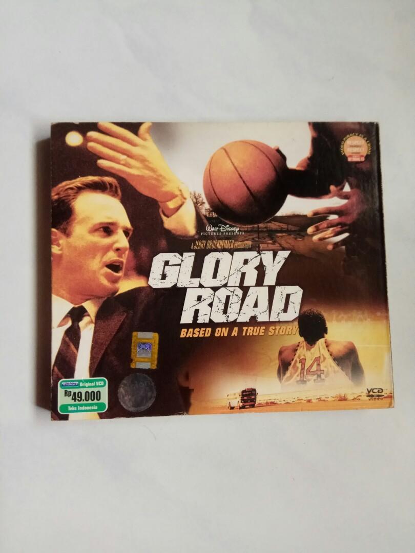 VCD FILM GLORY ROAD ORIGINAL (PRELOVED)