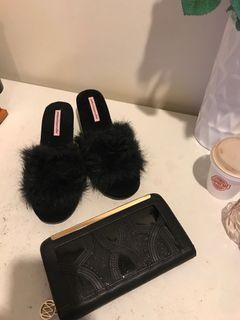 Wallet and letter Alexander slippers