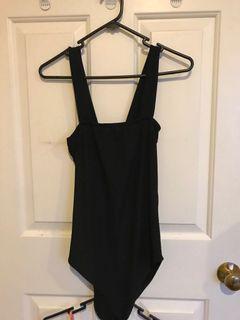 Wrap dress & bodysuit