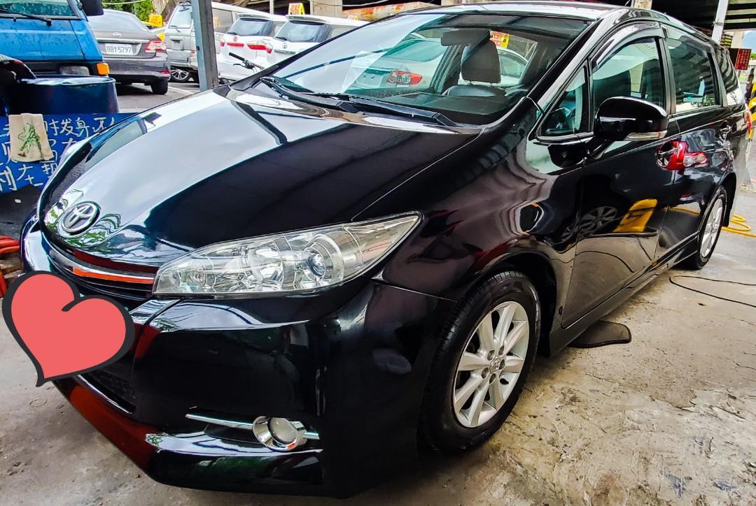 2010年【Toyota Wish 】內裝外觀超漂亮 有圖有真相⚠️