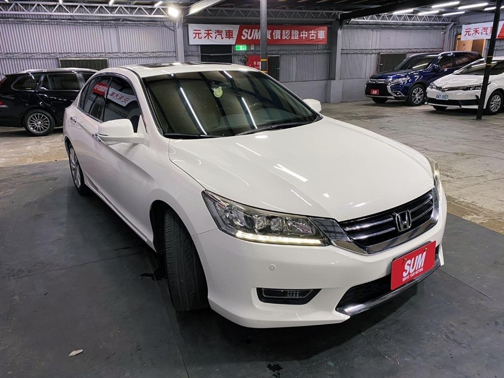 2013 Honda Accord 2.4VTi-S 鑽石白