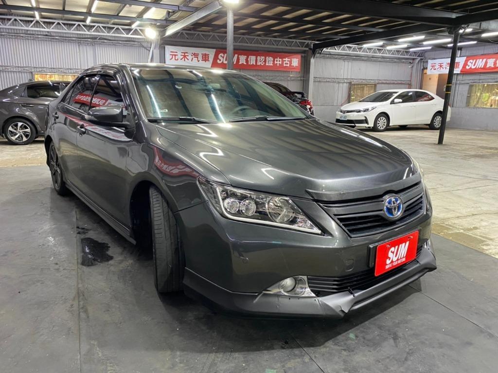 2013 Toyota Camry Hybrid 2.5G 油電車 新車價110萬