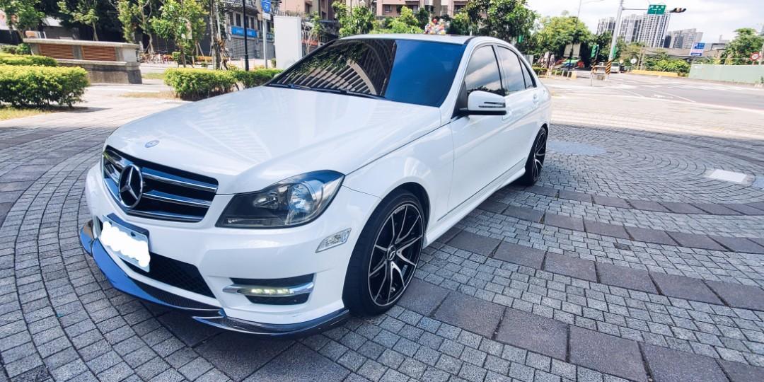 2014年【Benz C250】1.8掛渦輪 讓你知道什麼叫貼背