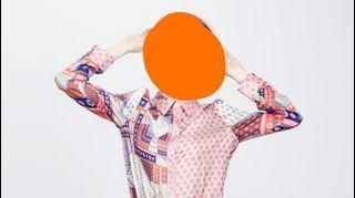 #2020掰掰 歐風古著風襯衫女設計感小眾新款2020夏薄款韓版寬松幾何波點原點印花  #newlook