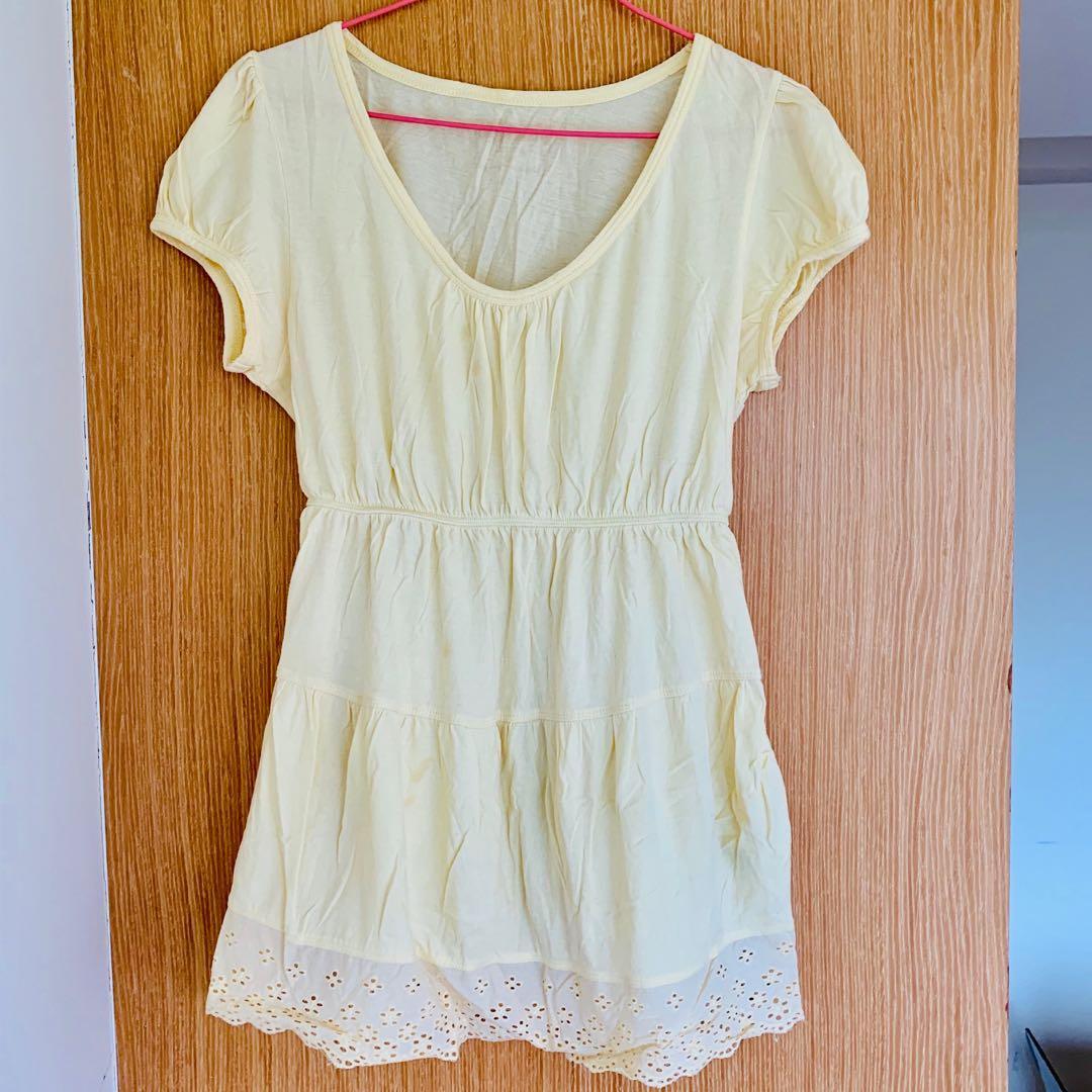 免費贈送 - (美國購回) 100%純棉 孕婦裝 孕婦上衣 尺寸S #newlife