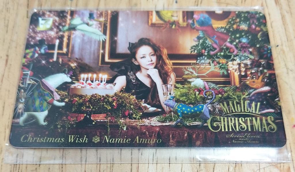 "安室奈美恵 / 安室奈美惠 / Namie Amuro / 時尚一派 / SUITE CHIC - 7-net ""Magical Christmas"" × Christmas Wish Music Card (日本限定) #stayhometowin"