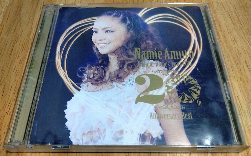 安室奈美恵 / 安室奈美惠 / Namie Amuro / 時尚一派 / SUITE CHIC - Namie Amuro 5 Major Domes Tour 2012 ~20th Anniversary Best~ (日本租賃盤限定 Live 2CD) #stayhomeandwin