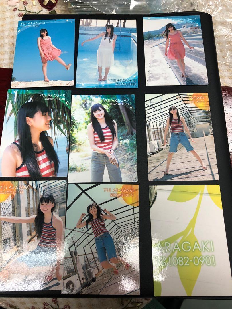 罕見 新垣結衣   白卡 九張 Yui Aragaki Hits Limited trading card 卡