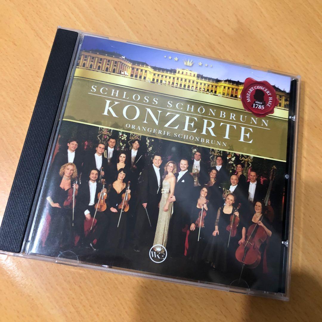 奧地利 維也納 音樂會 CD konzerte schloss schönbrunn
