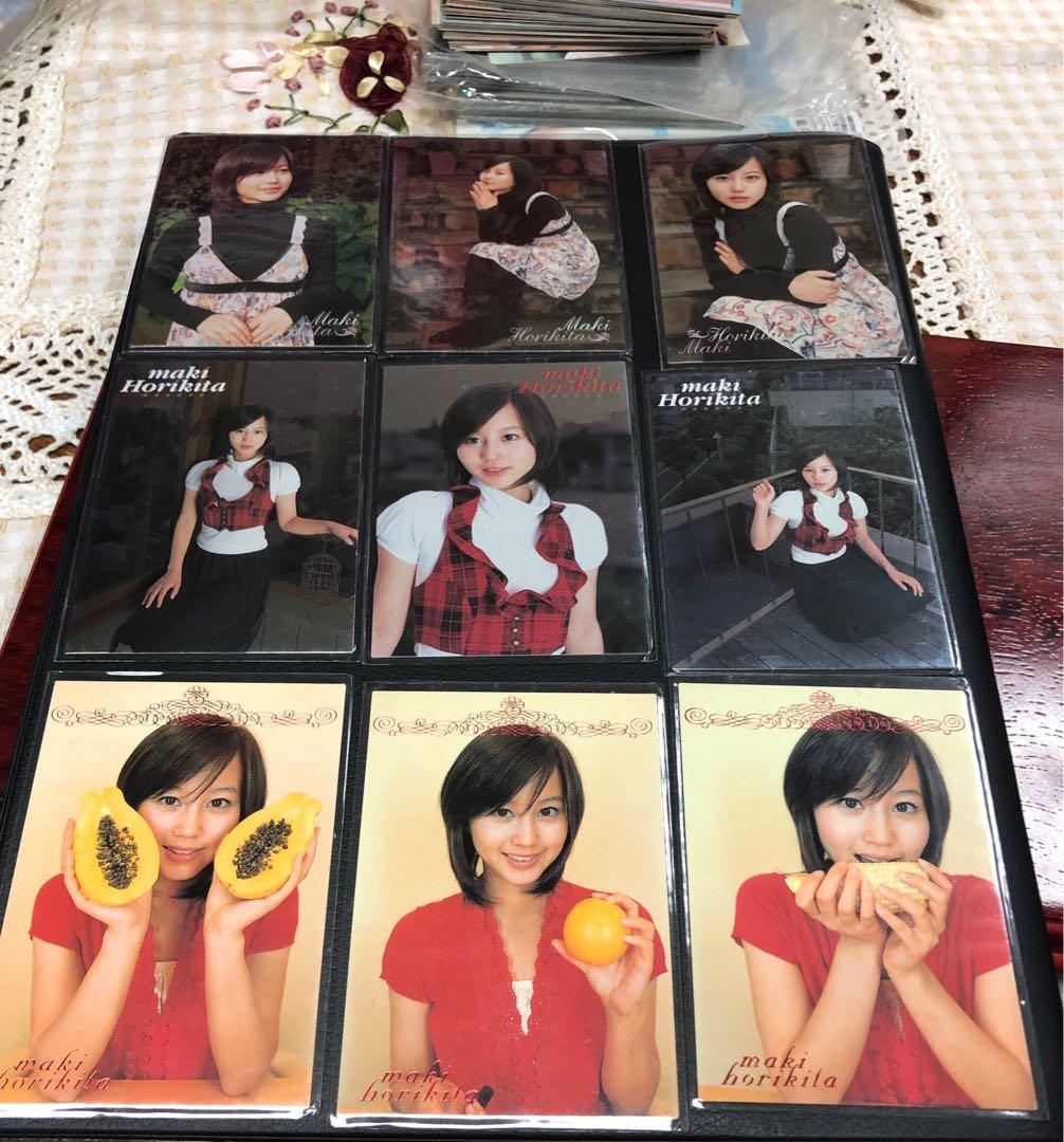 堀北真希 maki horikita 罕見 特別版 閃卡  9張 Limited trading card 卡