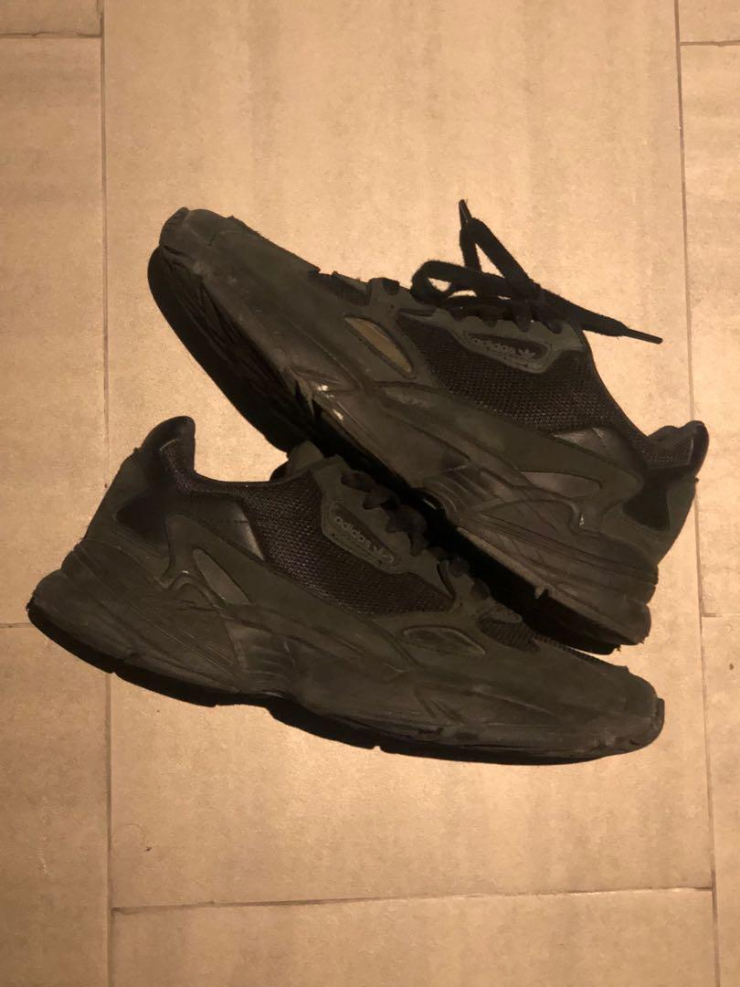 Adidas Falcon Black 42, Men's Fashion