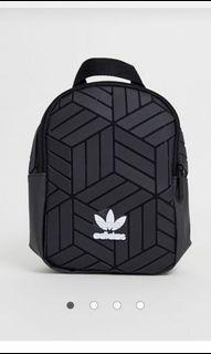 adidas originals 3d geometric mini backpack