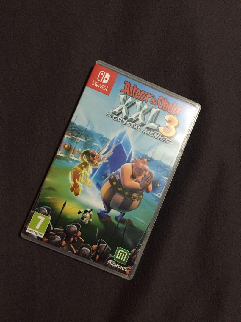 Nintendo Switch - Asterix & Obelix XXL 3 The Crystal Menhir