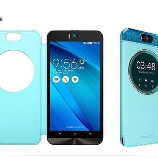 全新~ASUS ZenFone Selfie (ZD551KL) 原廠視窗型皮套 側掀皮套~
