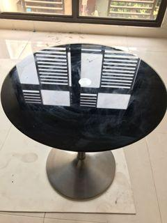 Coffee Table / Meja bulat kaca Informa